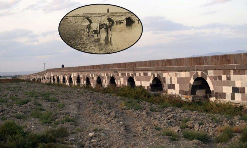400 metrelik tarihi Kırkgöz Köprüsü restore ediliyor