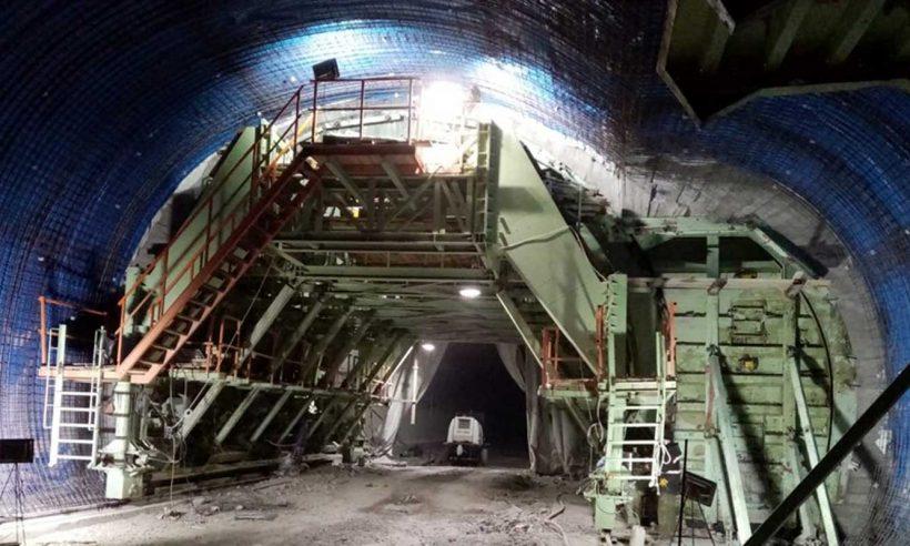 Türkiye'nin en uzun üçüncü tüneli 2022'de tamamlanacak