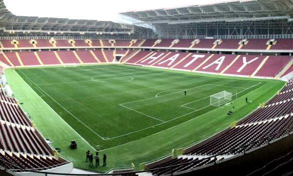 TOKİ'nin inşa ettiği Hatay Stadı'nda sona doğru
