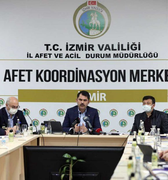 Bakan Kurum'dan Rıza Bey Apartmanı açıklaması
