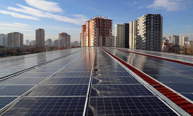 'Sıfır enerji bina' sistemleri emisyonların azaltılmasına katkı sağlayacak
