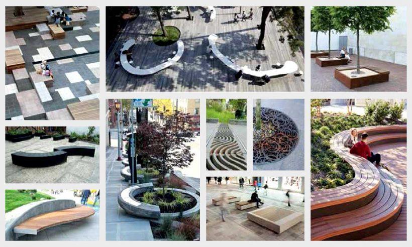 Kent kimliğinin parçası olarak özgün kent mobilyaları
