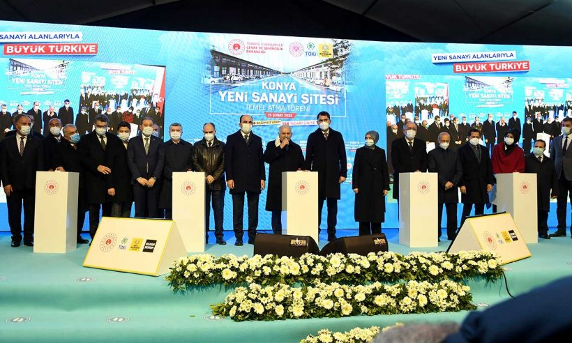 Konya Yeni Sanayi Sitesi'nin temeli atıldı