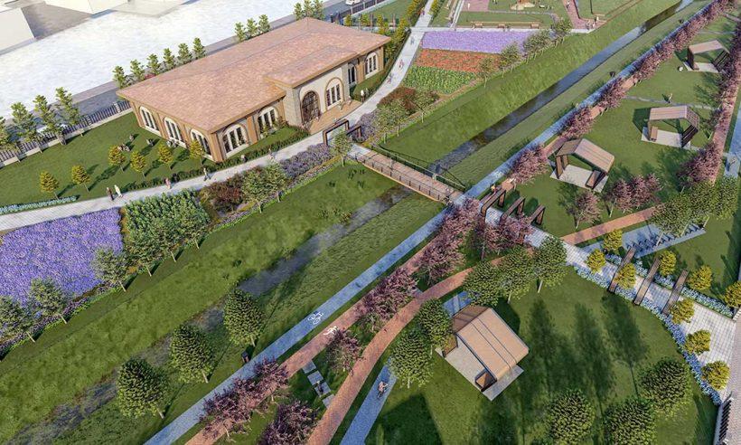 TOKİ, Tekirdağ Hayrabolu'da millet bahçesi yapacak