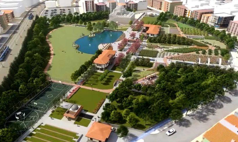 Başkente eğitim ve üretim alanlarıyla yeni bir millet bahçesi