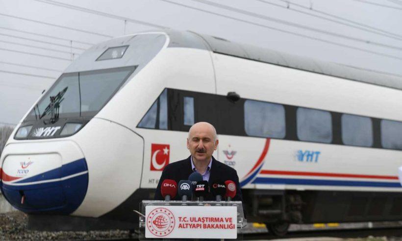 Ankara-Sivas YHT hattı haziran ayında hizmete açılacak