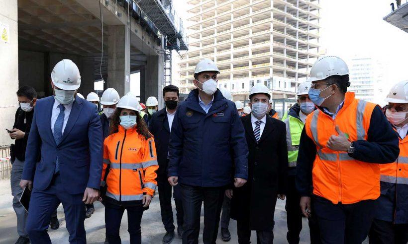 """""""İFM'nin inşaat ilerlemesi yüzde 66 seviyesine geldi"""""""
