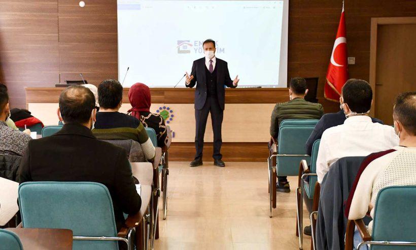 Emlak Yönetim'de işbaşı eğitimi