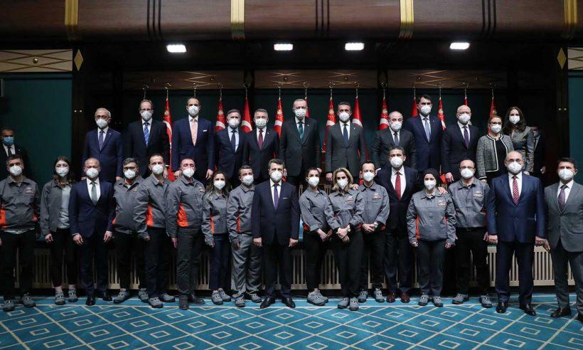 Cumhurbaşkanı Erdoğan: En büyük üretim merkezi Türkiye olacak