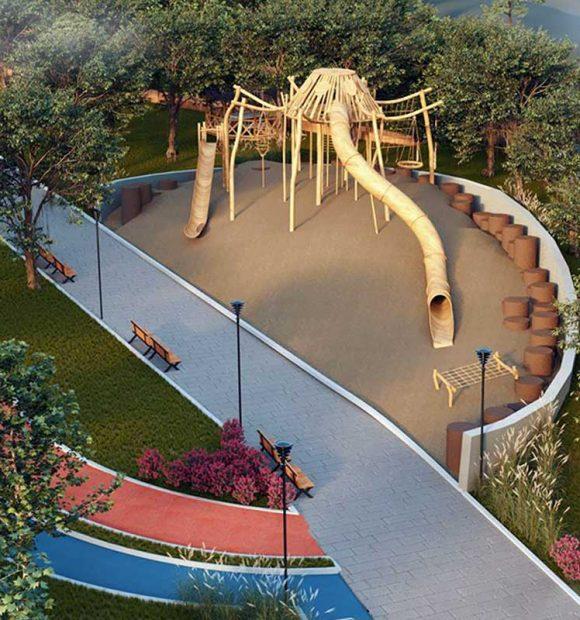 TOKİ'den Muğla Yatağan'a millet bahçesi