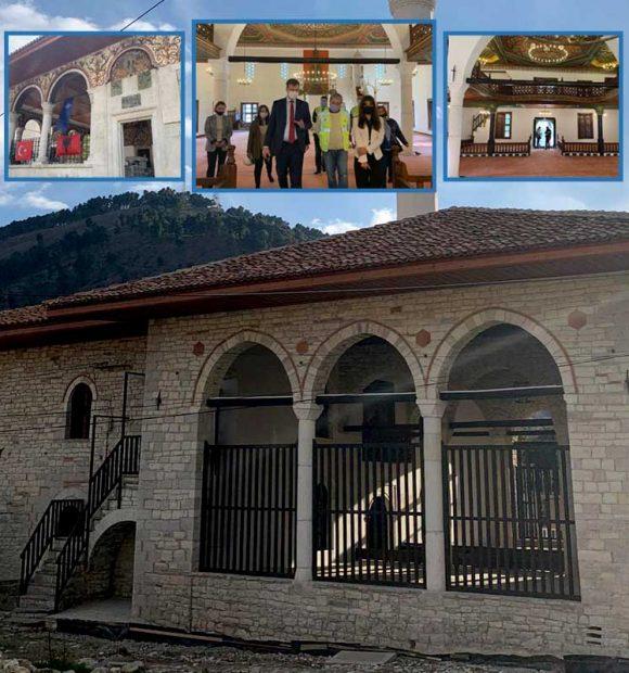 TİKA, Arnavutluk'taki tarihi camileri restore ediyor