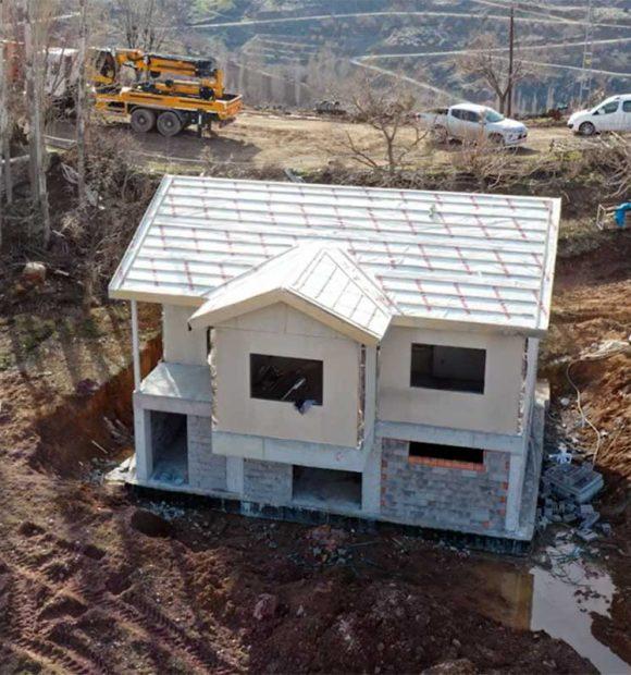 TOKİ, Elazığ'da 1564 köy evinin ihalesini yaptı