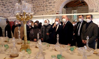 Beykoz Cam ve Billur Müzesi açıldı