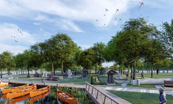 TOKİ'den Denizli Çivril'e millet bahçesi