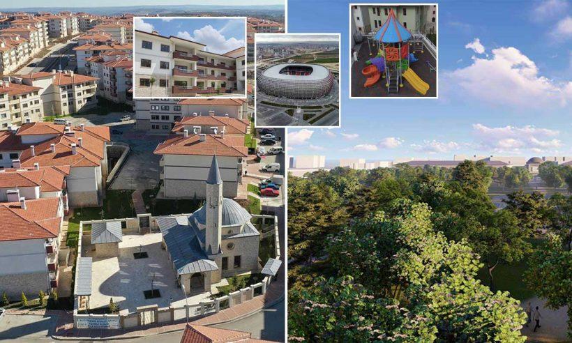 Gaziantep'in geleceği TOKİ ile inşa ediliyor