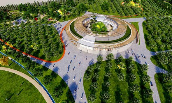 Kocaeli Dilovası Millet Bahçesi'nin ihalesi yapıldı