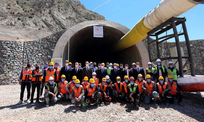 Kop Tüneli Projesi'nde hedef 2023