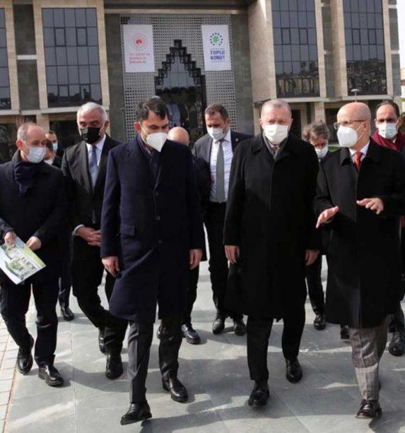 Marmara Üniversitesi Recep Tayyip Erdoğan Külliyesi inşaatında inceleme