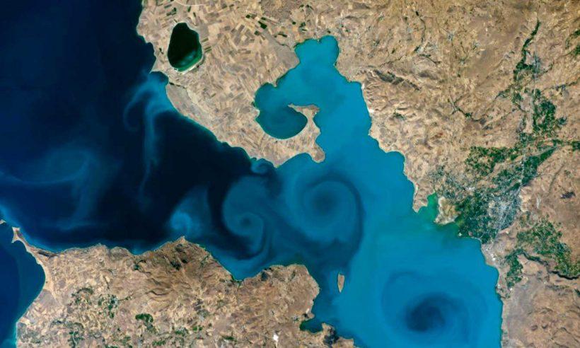 Dünya, Van Gölü fotoğrafını seçti