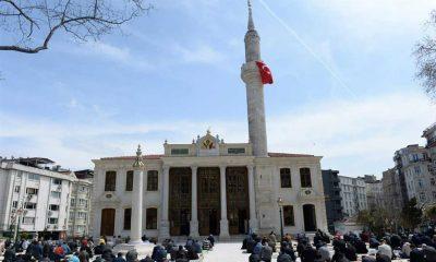 Teşvikiye Camii restore edildi
