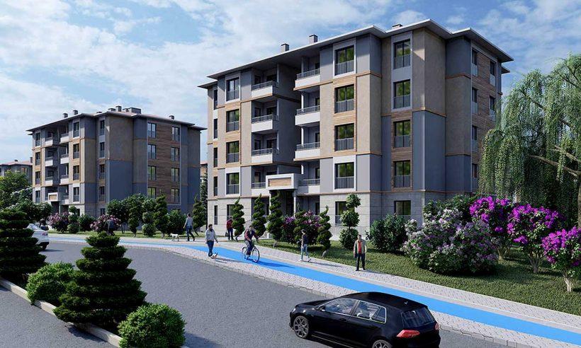 TOKİ, Konya ve Aksaray'da 4 bin 780 konut inşa ediyor