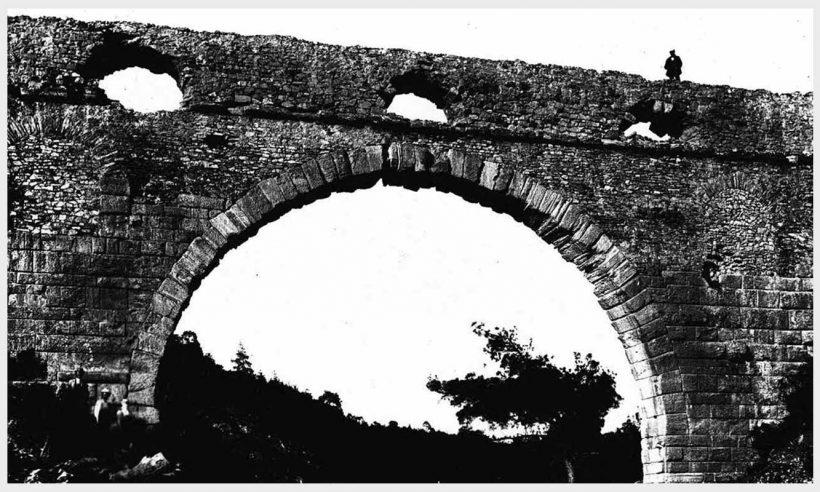 Antik çağdan bugüne Kemerdere Su Kemeri