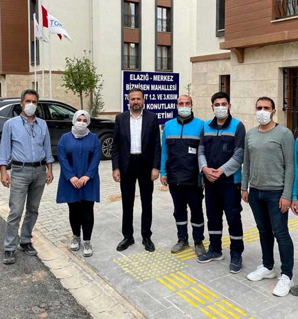 Karaca'dan Elazığ TOKİ projelerine ziyaret