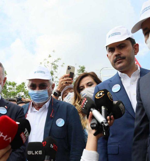 Kurum: Marmara'mızı eski haline dönüştürecek tüm eylemleri yapacağız