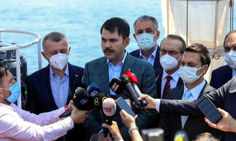 Bakan Kurum: Marmara'mızı, boğazımızı kaderine terk etmeyeceğiz