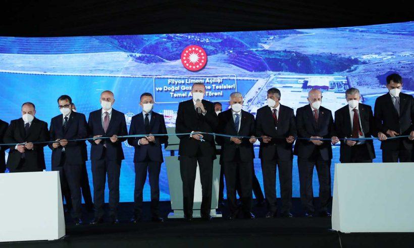 Karadeniz'in yeni lojistik üssü Filyos Limanı hizmete açıldı
