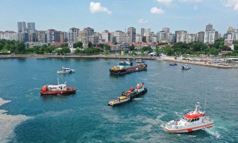 Marmara'nın suyu berraklaşıyor