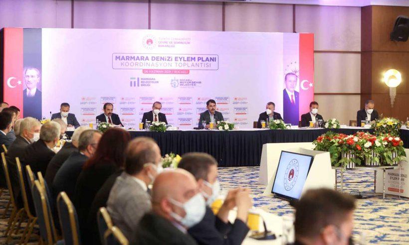 """""""Marmara Denizi Eylem Planı"""" kamuoyuyla paylaşıldı"""