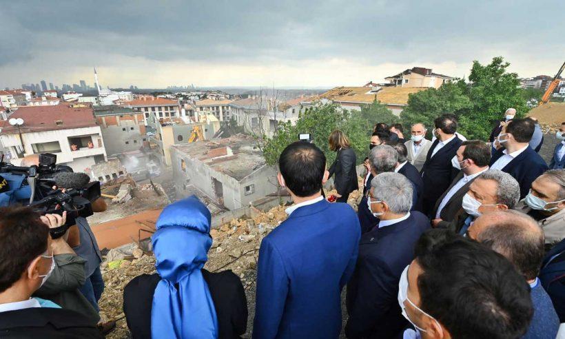 İstanbul'un kentsel dönüşümü için 5 bin konutluk yeni proje başladı