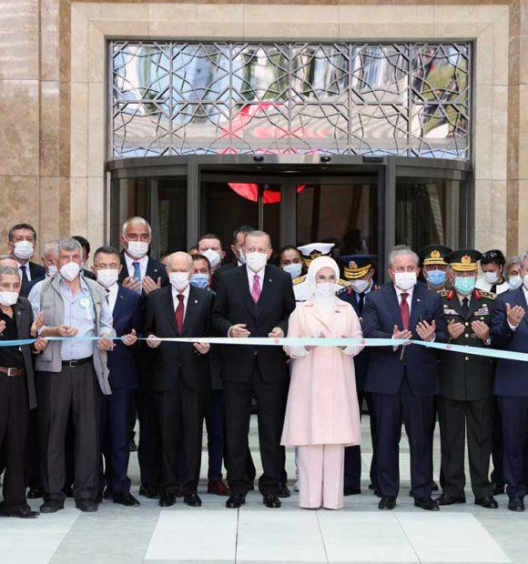 15 Temmuz Demokrasi Müzesi'nin açılışı yapıldı