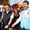 Kurum ve Pakdemirli Marmara Denizi'ne midye bıraktı