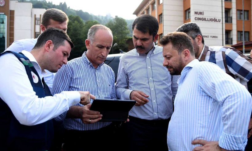 TOKİ, Rize'deki afetzedeler için konut projelerine başladı