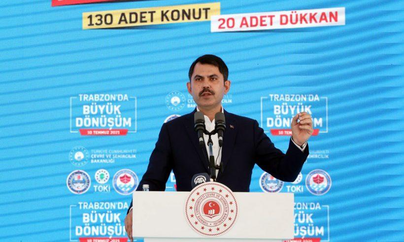 """""""Trabzon'un büyük dönüşümü için önemli bir adım atıyoruz"""""""