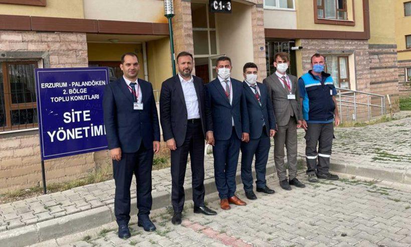 Erzurum'daki sitelere ziyaret