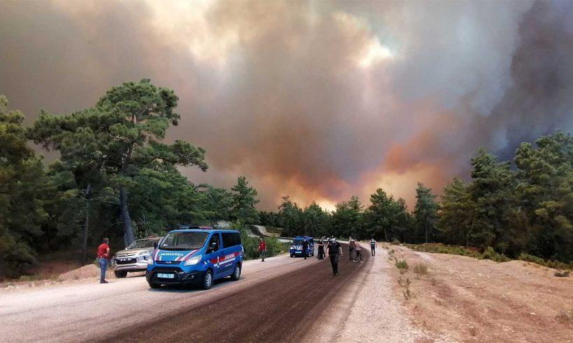 Yangından etkilenen alanlar 'Genel Hayata Etkili Afet Bölgesi' ilan edildi