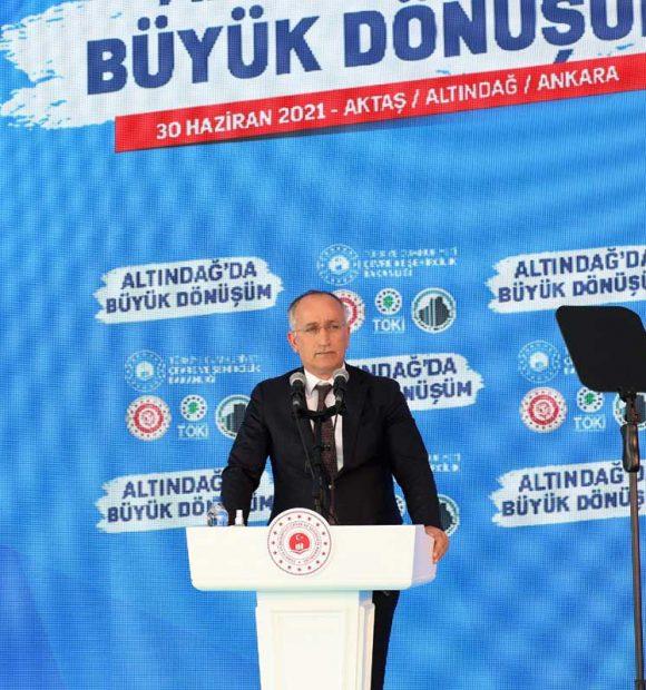 Altındağ'daki dönüşümde Ankara'nın tarihi dokusundan esinlenilecek