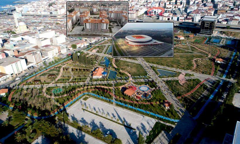 Samsun'un geleceği TOKİ ile inşa ediliyor
