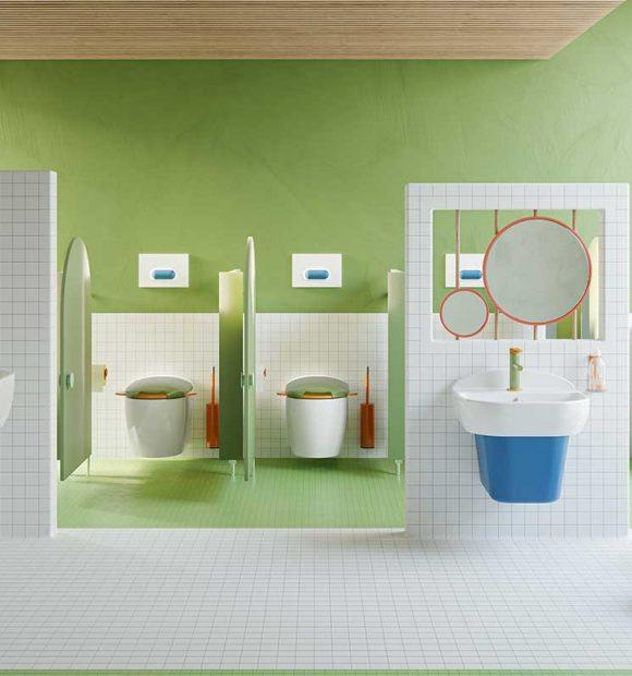 Çocuklara özel banyo koleksiyonu