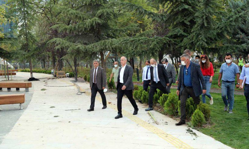 Ankara AKM Millet Bahçesi ekim ayında açılıyor