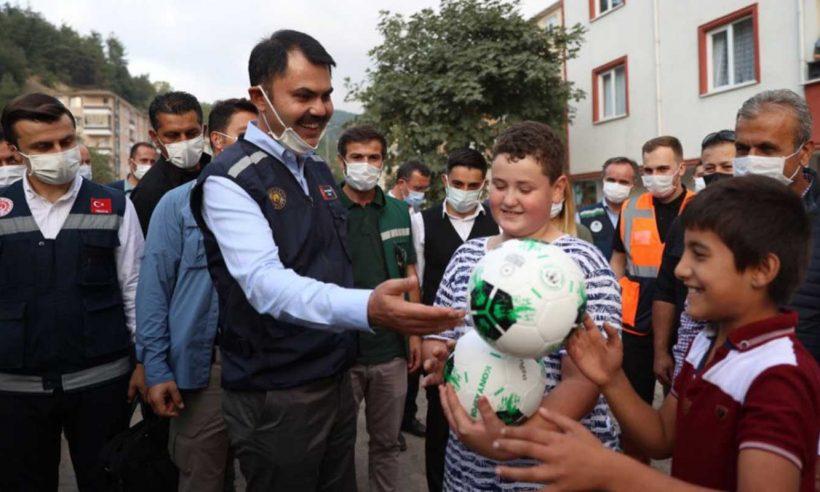 Sel felaketinin yaşandığı Bozkurt'ta ticari hayat normale dönüyor