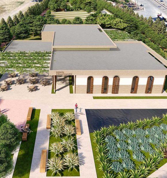 Kırıkkale'ye 27 bin metrekarelik yeni millet bahçesi