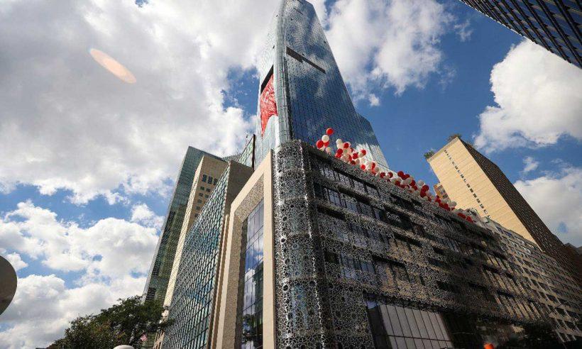 New York'taki Yeni Türkevi Binası törenle açıldı