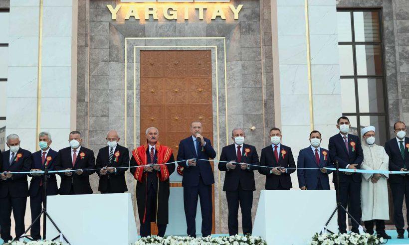 Yargıtay yeni hizmet binası törenle açıldı