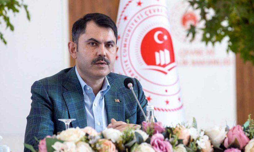 Bakan Kurum, yeşil kalkınma devrimi sürecinin başladığını açıkladı