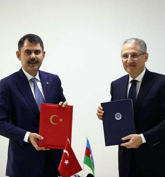 Türkiye ile Azerbaycan arasında çevre koruma alanında işbirliği