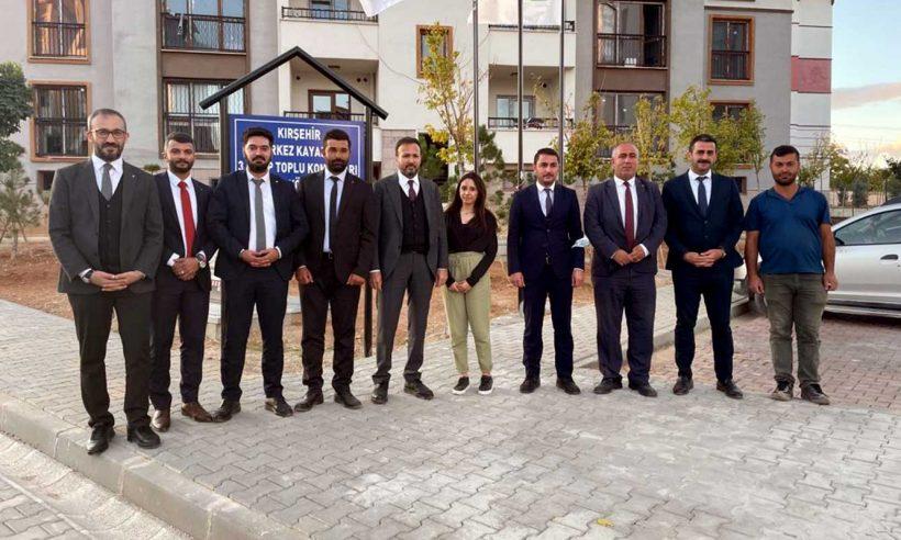 Karaca'dan Kırşehir'de site ziyareti